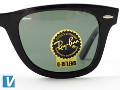 do ray ban prescription sunglasses have logo  new ray ban sunglasses feature a sticker on the lense. the sticker features the