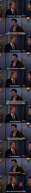 Barney's One Rule