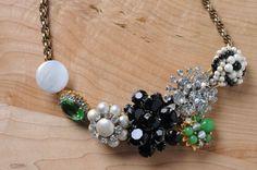 DIY Fashion brooch necklace