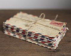 WWII Letters by Smile Mercantile, via Flickr