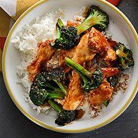 Spicy Chicken & Broccoli