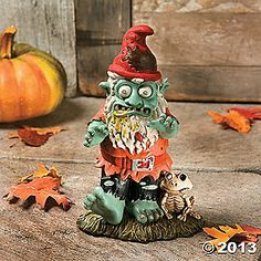Zombie Gnome   I love him!  He is so awesome!