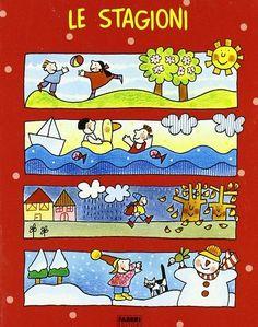 Seasons Activities, School Lessons, Children's Literature, Naive, Emoticon, Primary School, Four Seasons, My Children, Childrens Books