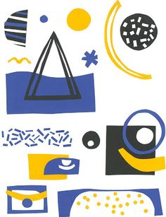 malwina marchwicka, illustrations, cut-out, poster, design, abstract,art
