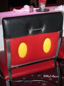 Mickey Chair at Animator's Palate Aboard the Disney Dream
