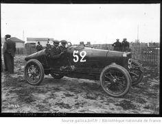 23-6-12, circuit de Dieppe, Médinger sur Sunbeam [grand prix de l'Automobile club de France] : [photographie de presse] / [Agence Rol] - 1