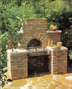 Read Alan Bridgewater's book Brickwork Projects for Patio & Garden: Designs, Instructions and 16 Easy-to-Build Projects (Creative Homeowner). Published on by Creative Homeowner. Pizza Oven Outdoor, Outdoor Cooking, Diy Outdoor Furniture, Outdoor Rooms, Brick Bbq, Backyard Kitchen, Garden Features, Brickwork, Outdoor Fire