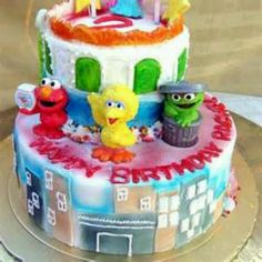 sesame street birthday!
