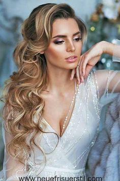 Seite die Hälfte-Up-Braut-Haar-Stil