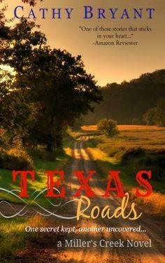 Free Christian fiction - TEXAS ROADS (A Miller's Creek Novel Book 1) by Cathy Bryant, http://www.amazon.com/dp/B00480OH1G/ref=cm_sw_r_pi_dp_VrQnvb0XGC0FR