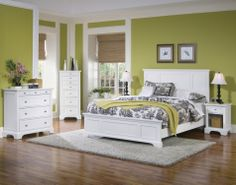 bedroom | Shown with other Naples Bedroom Furniture