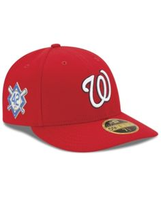 detailed look c9ecc f03a1 New Era Washington Nationals Jackie Robinson Day Low Profile 59FIFTY Fitted  Cap - Red 7 3