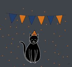 Halloween kat - Lot Bouwes // Lot Bo
