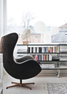 Classical Scandinavian House With A Mid-Century Touch | DigsDigs