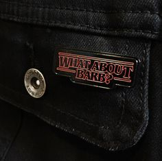 What About Barb? – Soft Enamel Pin Stranger Things by MatPinCo on Etsy https://www.etsy.com/listing/460265880/what-about-barb-soft-enamel-pin-stranger
