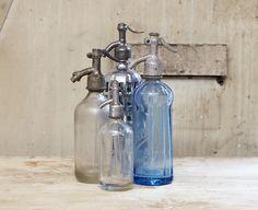 I love Vintage Seltzer bottles and have started a collection.