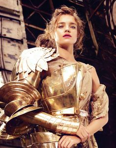 Natalia Vodianova by Michelangelo di Battista for Harper's Bazaar UK December 2010