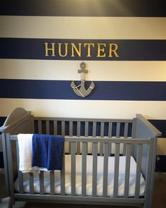 Boys Nautical Bedroom, Childrens Bedroom Decor, Drawing Room Blue, Interior Styling, Interior Design, Farrow Ball, Design Consultant, Baby Room, Cribs