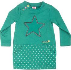 Vestido pelúcia combinado look at the stars, para menina - tuc tuc