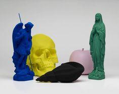 Katharina Fritsch's Large-Scale Sculptures | Trendland: Design Blog & Trend Magazine----- do matte figurines