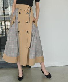 Unique and stylish fashion styles ideas model woman inspiration 13 – wonders style Hijab Fashion, Korean Fashion, Trendy Fashion, Fashion Dresses, Plaid Fashion, Muslim Fashion, Diy Fashion, Fashion Styles, Long Skirt Outfits