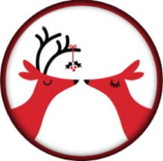 Snap button Reindeer Mistletoe 18mm charm chunk interchangeable >>> To view further for this item, visit the image link.