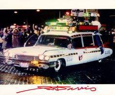 """1959 Cadillac Miller-Meteor """"Ecto 1A"""" - Ghostbusters II (1989)"""
