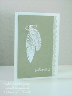 Four Feathers stamp set