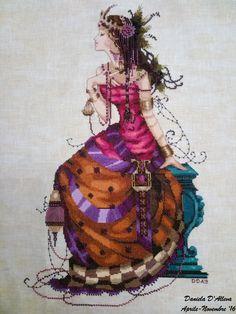 Gypsy Queen - Mirabilia - Cross stitch