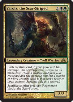 Varolz, the Scar-Striped x4 Magic the Gathering 4x Dragon's Maze mtg rare NM edh in Toys & Hobbies, Trading Card Games, Magic the Gathering | eBay