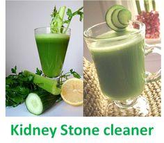 Kidney Stone Cleaner - 2 Powerful Juice