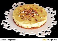 Výborný jablkový koláč s vanilkovým pudinkem recept - TopRecepty.cz