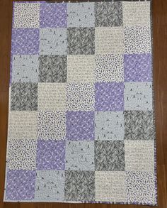 Etsy Quilts, Picnic Quilt, Welcome Home Gifts, Purple Quilts, Homemade Quilts, Quilted Gifts, Bachelorette Gifts, Quilts For Sale, Custom Quilts