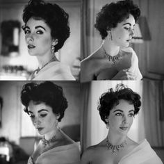Liz Taylor. Photographed by Cecil Beaton.