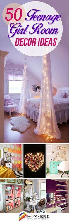 La muchacha adolescente ideas de diseño dormitorio