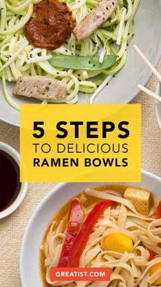 How to Make Epic Ramen Bowls at Home #ramen #recipe