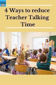 Do you want to achieve less teacher talk and more students talk? Use these 4 ways to reduce your Teacher Talking Time. You can also get Your Guide to reduce your TTT and enhance its Quality. Classroom Management Strategies, Classroom Procedures, Teaching Strategies, Classroom Ideas, Preschool Classroom, Behavior Management, Management Tips, Instructional Coaching, Instructional Strategies