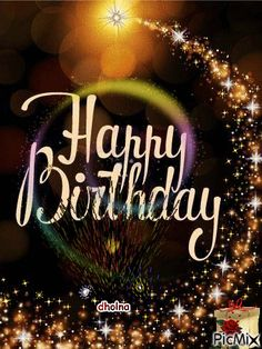 See the PicMix Happy Birthday belonging to dholna on PicMix. Happy Birthday Greetings Friends, Happy Birthday Wishes Photos, Happy Birthday Wishes Images, Happy Birthday Video, Cute Happy Birthday, Birthday Wishes Messages, Birthday Blessings, Birthday Quotes, Birthday Cake Gif