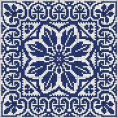 Gorgeous X-stitch square Biscornu Cross Stitch, Cross Stitch Charts, Cross Stitch Designs, Cross Stitch Embroidery, Embroidery Patterns, Cross Stitch Patterns, Crochet Patterns, Filet Crochet, Crochet Chart