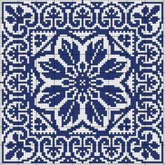 Square 73 | gancedo.eu Use for crochet hawaiian quilt/afghan?