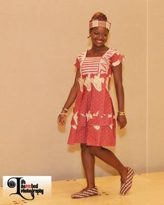 Miss Sierra Leone USA 2013-2014 Ruby B. Johnson in Traditional Wear (representing Freetown & Krio heritage) at the 2012 #MissSierraLeoneUSA Pageant. #WestAfrica #Africa #BeautyQueen #AfricanWear