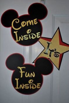 Mickey Mouse Birthday Party Decoration Ideas