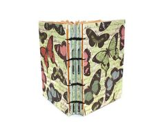 Butterfly Swarm Handmade Journal with Coptic by Thenibandquill, $32.00