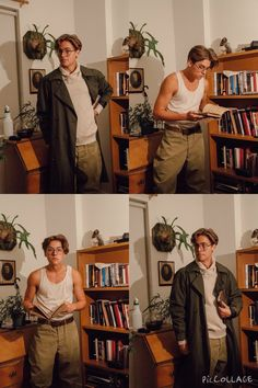Cole Sprouse dressed as Milo Thatch from Atlantis