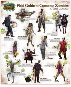 Zombie Field Guide 19.5x24 small | par Buschman1
