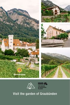 The winegrowing village and former marketplace of Malans is located in the Bündner Herrschaft area, the only continuous winegrowing region in the canton of Graubünden. Switzerland Tourism, Grand Tour, Heritage Site, Places To Go, Beautiful Places, Tours, City, Travel, Summer
