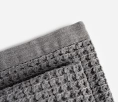 Kontex | Lattice Towel | Grey