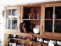 キッチンのカップボード 100円ショップダイソー、セリア、ニトリ