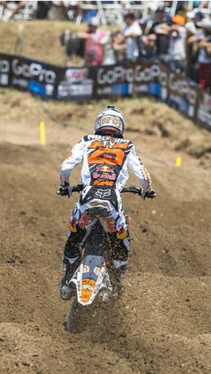 MotoX action from the Hangtown National | dirt bike | off-road | motorcycles