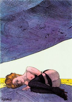 Erotic women of Moebius